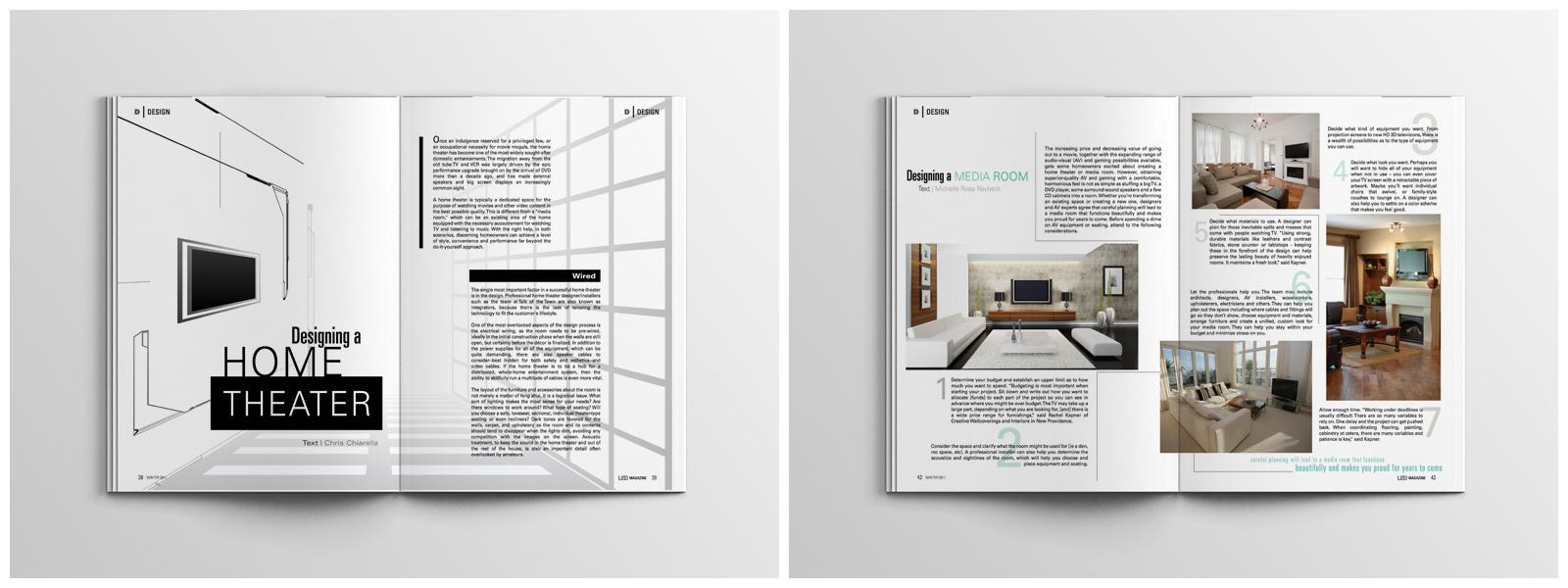 RE EVOLUTION // Aspire - Editorial Design