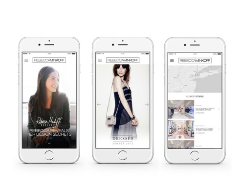 RE EVOLUTION // Rebecca Minkoff - App