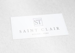RE EVOLUTION // Saint Clair - Branding