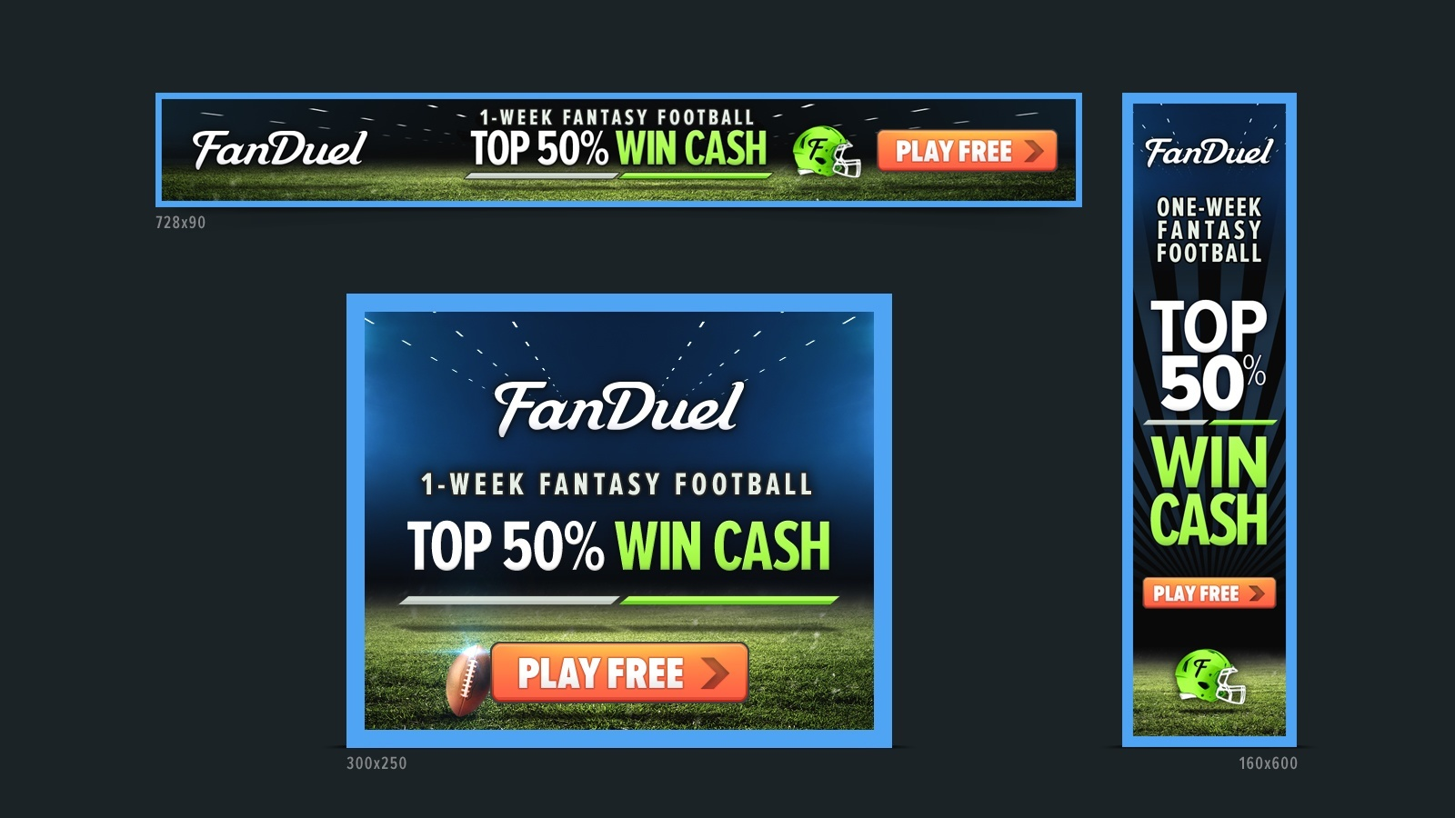 RE EVOLUTION // FanDuel - Digital Advertising, Design, Branding