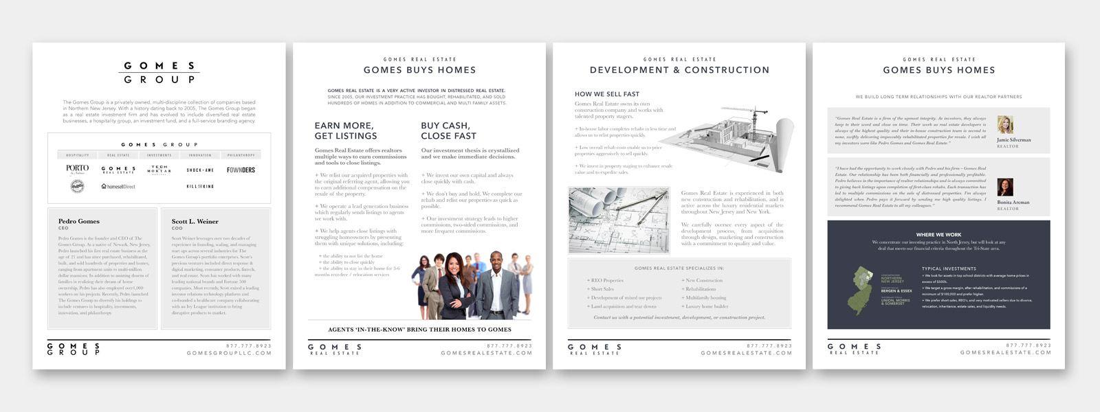 RE EVOLUTION // Real Estate Media Kit Design