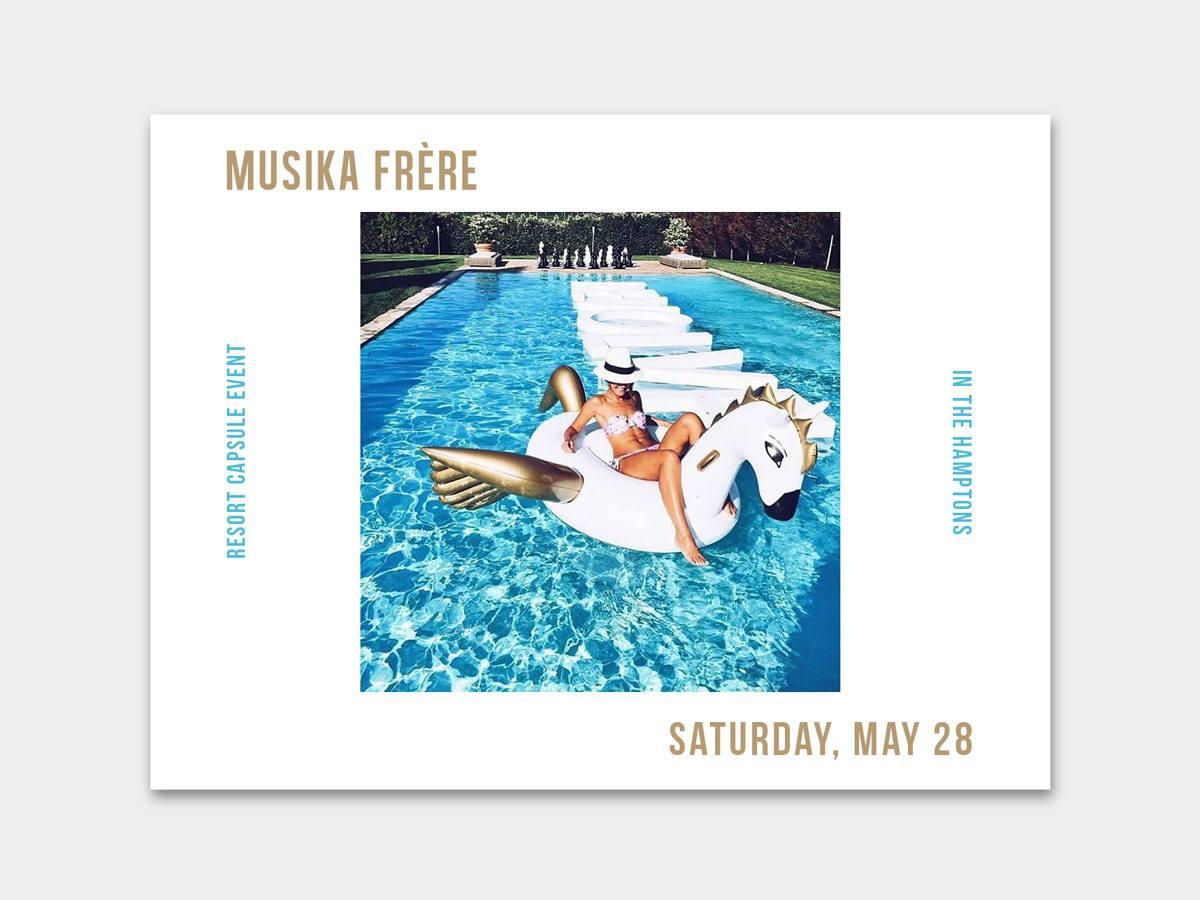 RE EVOLUTION // Musika Frere - Social Media Design