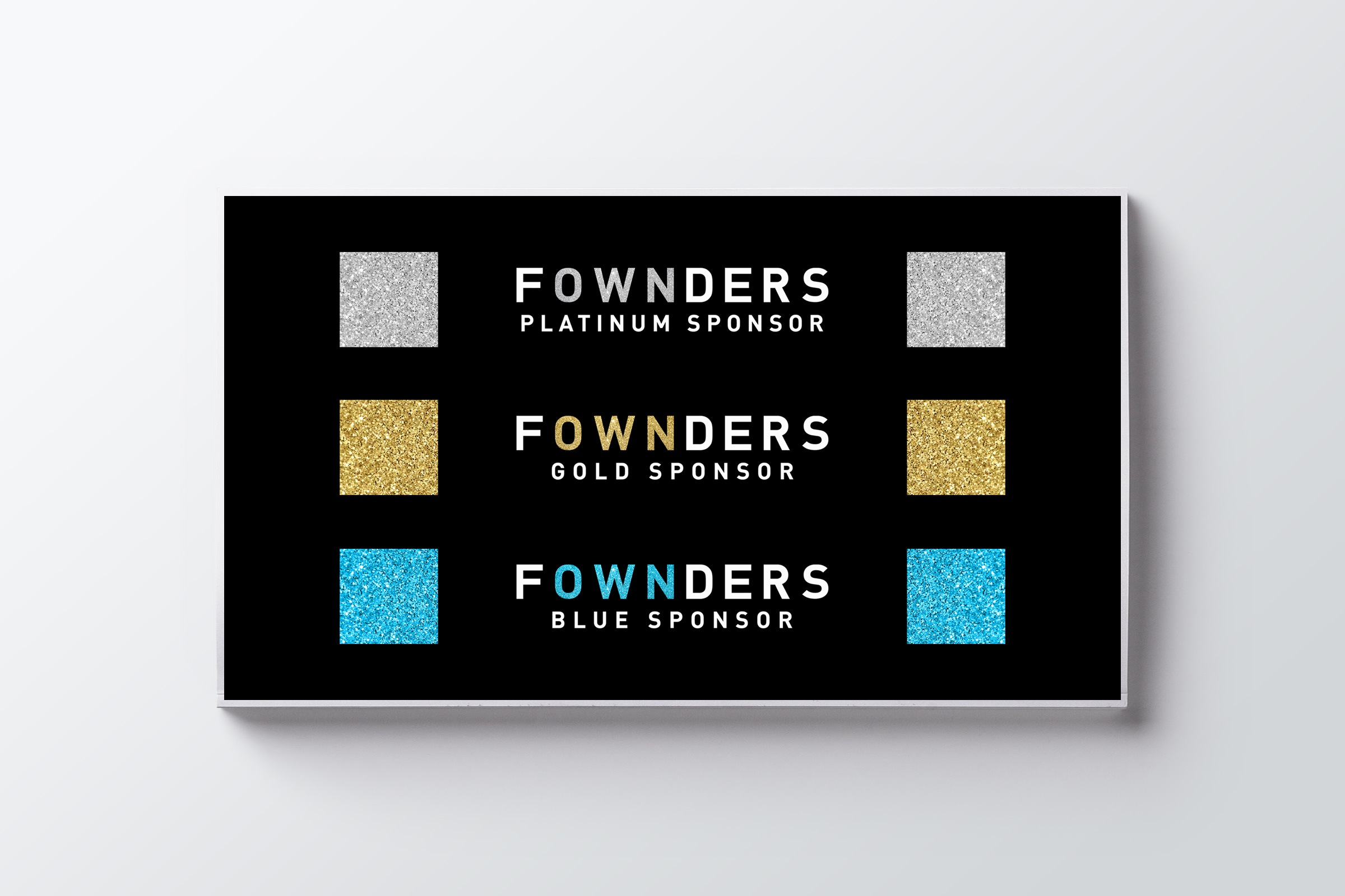 RE EVOLUTION // Fownders - Branding - Logo Applications