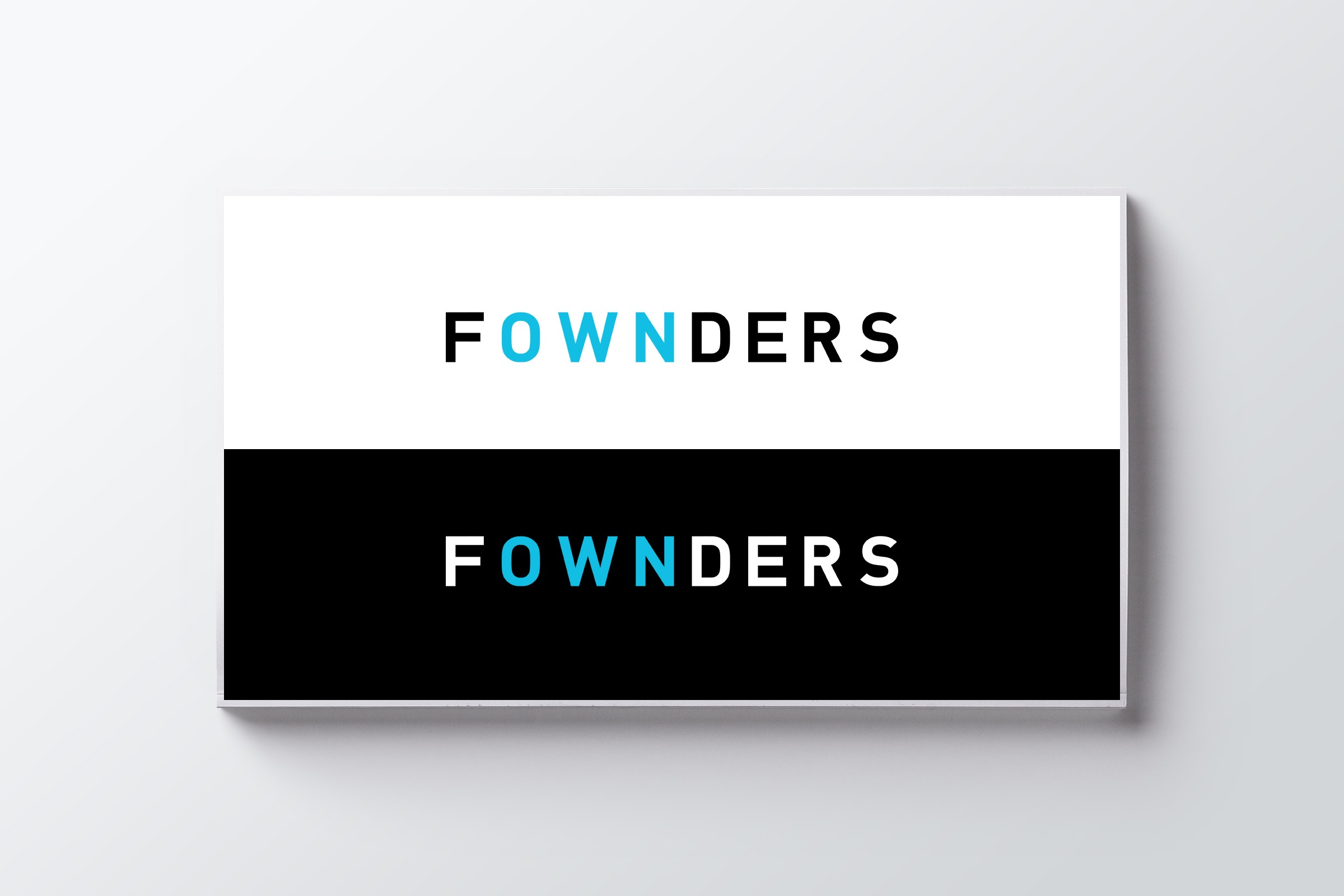 RE EVOLUTION // Fownders - Branding - Logo Design