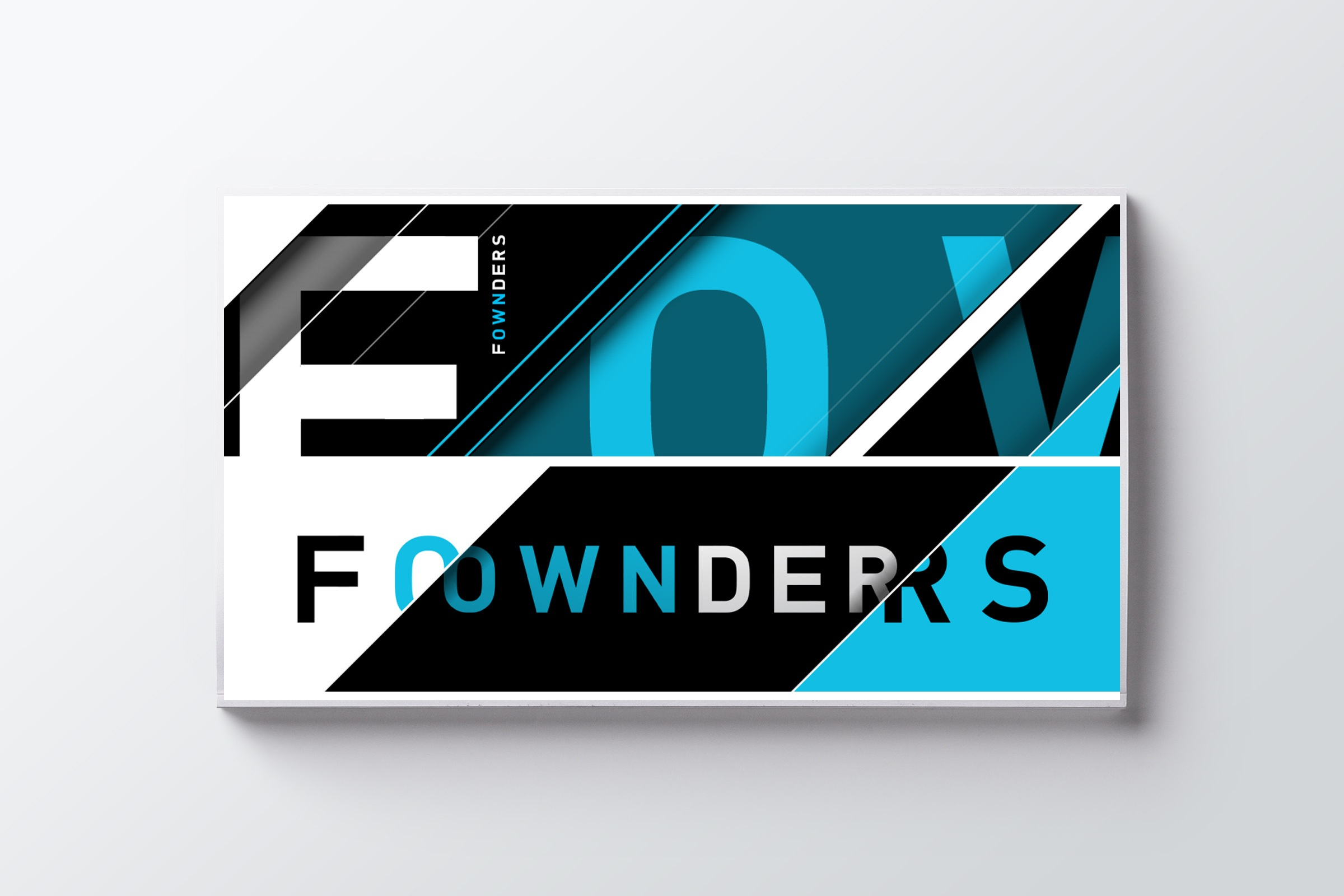RE EVOLUTION // Fownders - Branding - Visual Identity