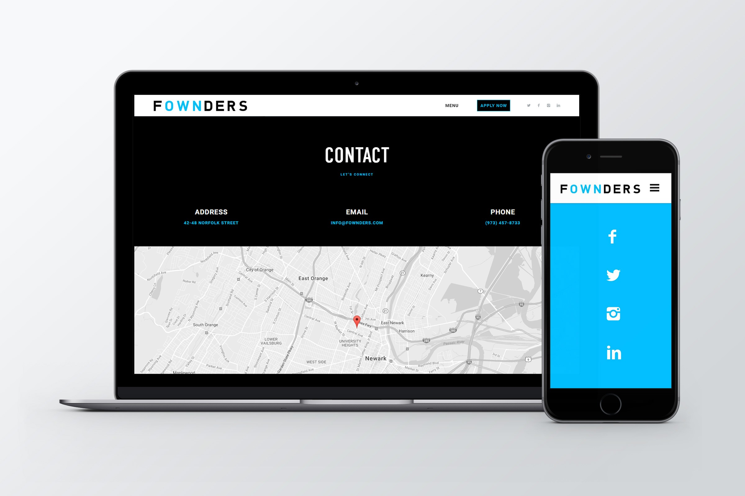 RE EVOLUTION // Fownders - Web/UI/UX Design